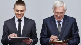 Бизнесмены разных поколений по-разному реагируют на кризисные явления