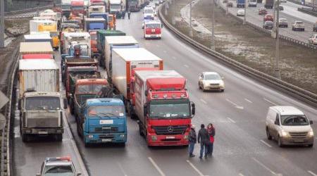 Транзитные грузовики свыше 3,5 тонн переведут на ЦКАД ровно через месяц