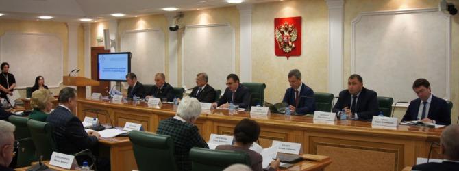 В Совете Федерации подведены предварительные итоги Года Экологии в России