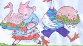 Конкурент в борьбе за пищу: человек свинье не товарищ